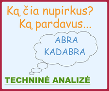 technine analize